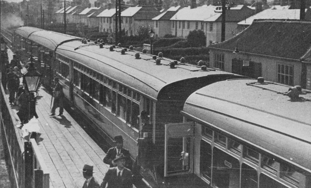 Rhiwbina Halt 1930's
