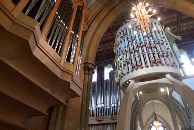 Llandaff cathedral organ