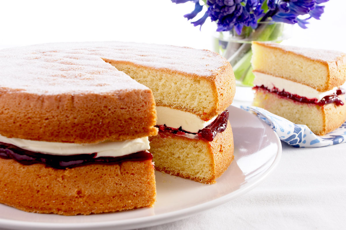 how to make the perfect victoria sponge free multi