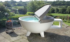 Top Stak hot tub
