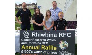 CRWRRFC Raffle Launch Rhiwbina Squirrels