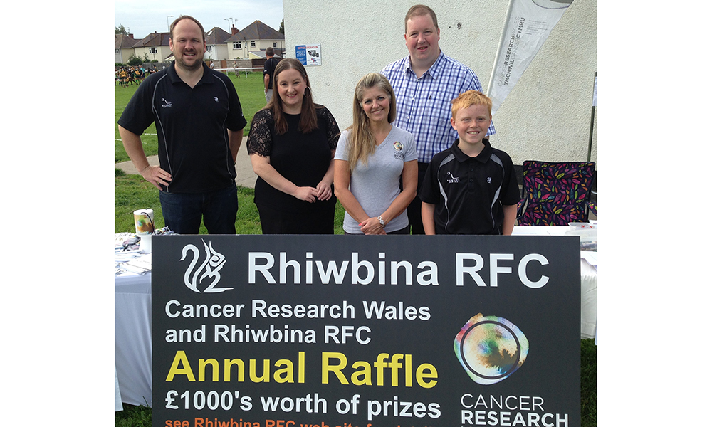CRWRRFC Raffle Launch Rhiwbina Squirrels