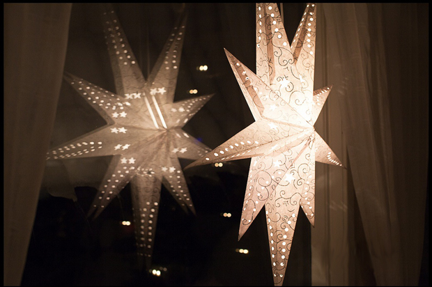 star in window