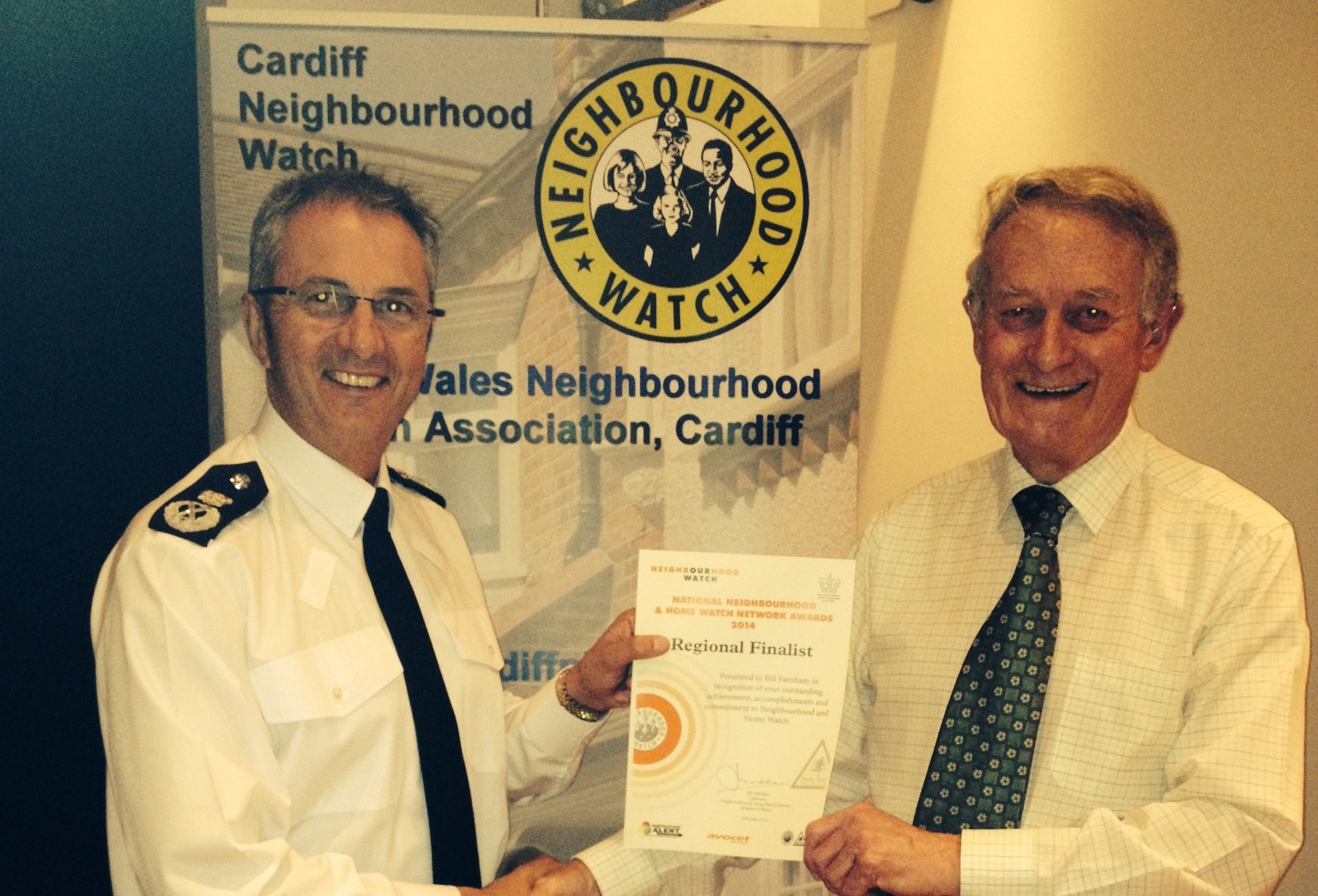 bill farnham neighbourhood watch cardiff