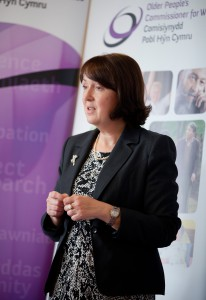 Older Peoples Commissioner for Wales - Sarah Rochira