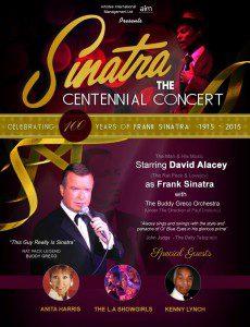 Frank Sinatra Final Flyer 100 Years