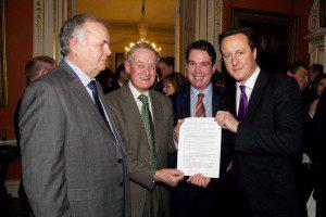 Bill Farnham David Cameron