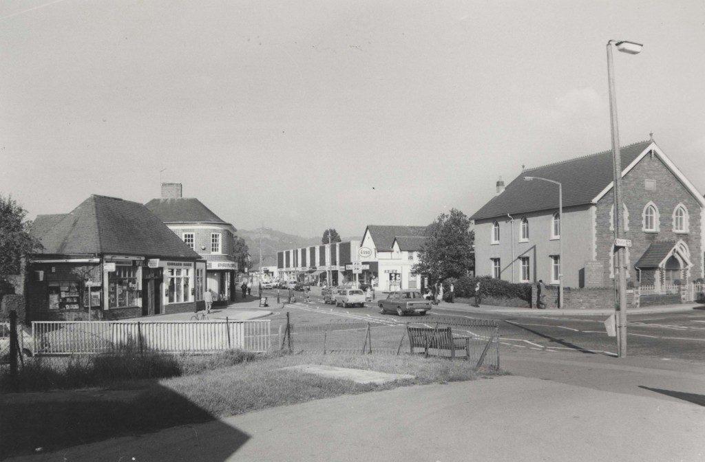 Heol-y-Deri Beulah Rd junction 1960s