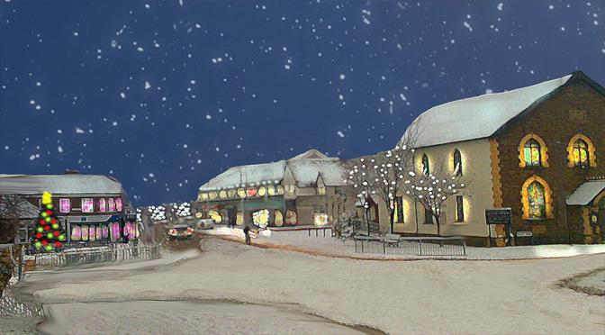 Christmas in Rhiwbina