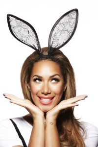 Leona Lewis rabbit