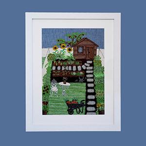 Jenny Evans Velindre Art auction barrow