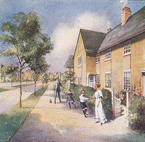 Promotional brochure cover Rhiwbina 1913