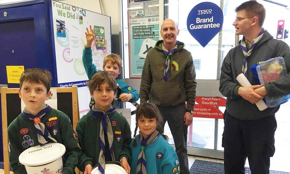 2nd Llandaff Scouts fundraising