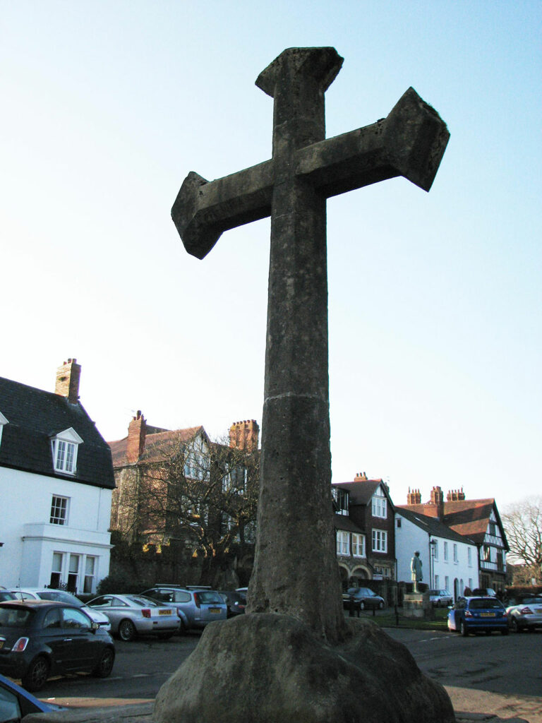 The Preaching Cross at Llandaff Cathedral