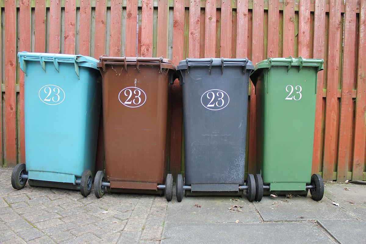 wheelie-bins